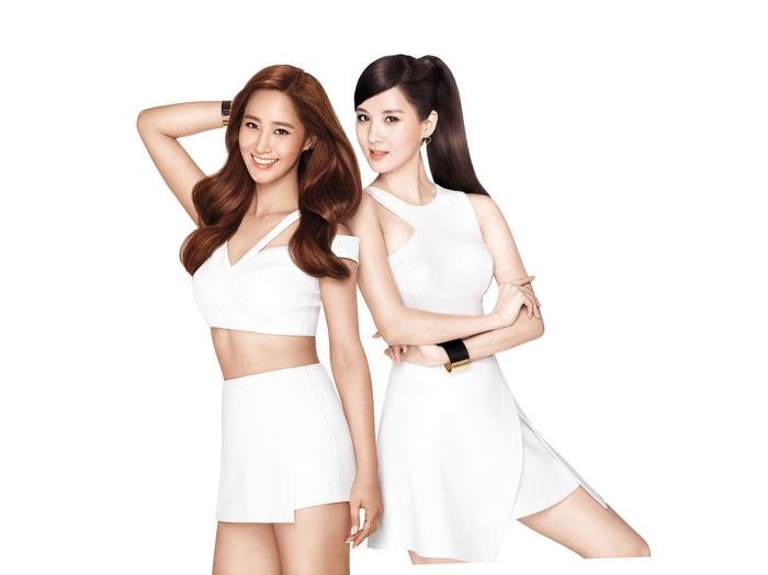 Yuri and Seohyun