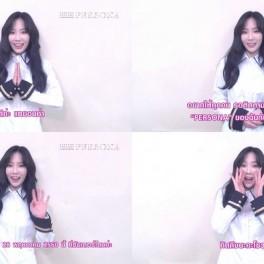 [Capture] Artist VTR - TAEYEON of Girls' Generation