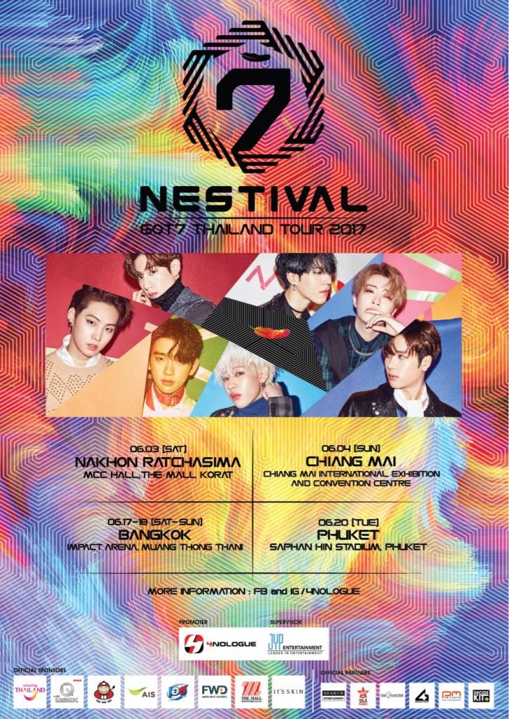 GOT7 THAILAND TOUR 2017_PosterP V.2