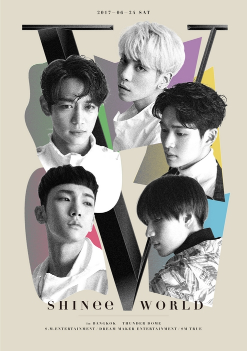 "[Key Visual] SHINee CONCERT ""SHINee WORLD V"" in BANGKOK"