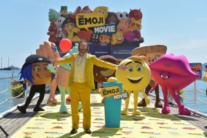 CANNES, FRANCE - MAY 16:  Actor T.J Miller attends ?The Emoji Movie? photo call at the start of the 70th Cannes Film Festival at The Carlton Pier on May 16, 2017 in Cannes, France.  (Photo by Pascal Le Segretain/Getty Images for Sony Pictures)