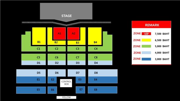 TAEYENG - Seat Plan