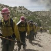 """""""Supe"""" Eric Marsh (Josh Brolin) with his crew in Columbia Pictures' ONLY THE BRAVE."""
